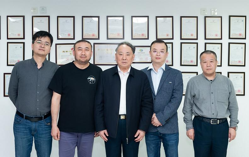 中国工程院沈昌祥院士莅临西安万像电子指导工作